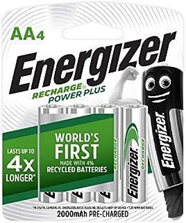 Energizer Recharge Universal AA Rechargeable Multipurpose Battery, 2000 mAh,