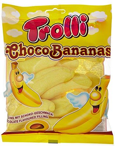 Trolli Mallow Choco Bananas, 8er Pack (8 x 150 g Beutel)