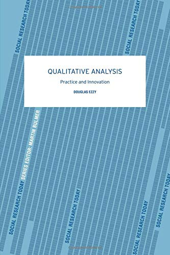 Qualitative Analysis (Social Research Today)