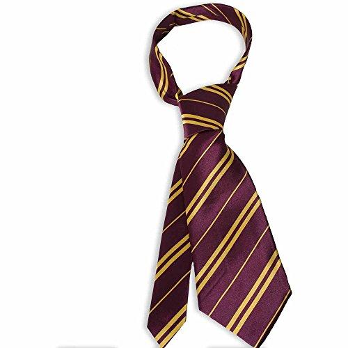 Bristol Novelty Harry Potter Krawatte Bordeaux-gelb Einheitsgröße