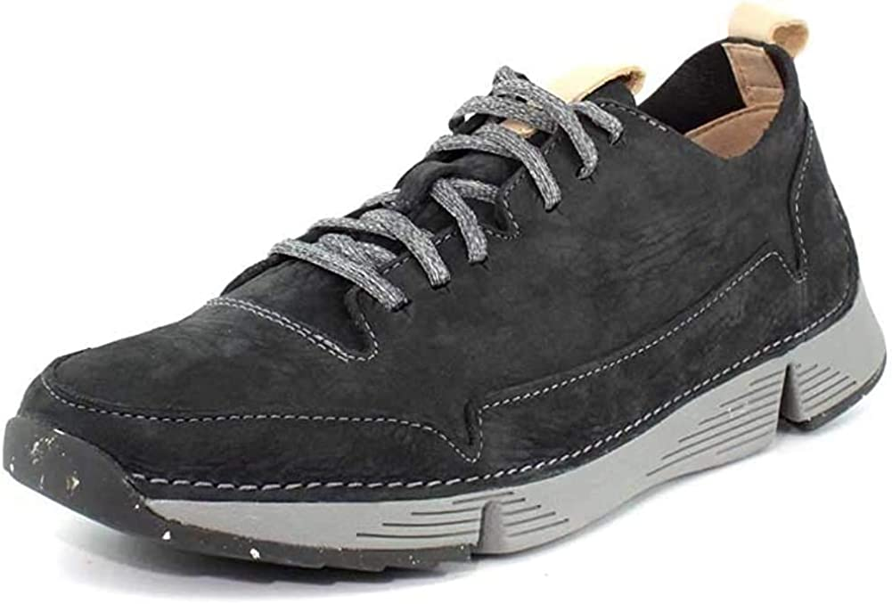 Men/'s Shoes Clarks TRI SPARK Nubuck Lace Up Athletic Sneakers 35655 KHAKI *New*