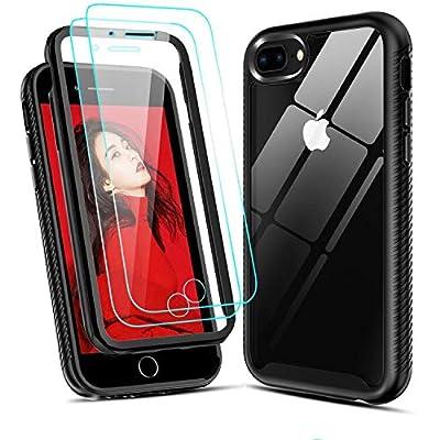 Amazon - Save 50%: LeYi iPhone 8 Plus Case, iPhone 7 Plus Case, iPhone 6 Plus Case with Tempere…