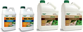 Pro Products Pack Rid O' Rust Stain Preventer and NatureShield Insect Pest Repellant, 4 Bottles Total
