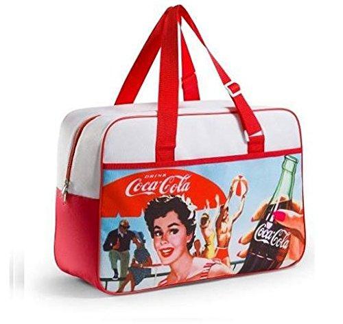 Coca Cola Vintage Kühlbox 24lt Meer Strand Pool mel721