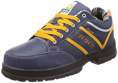 [ジーデージャパン] 鋼製先芯入り 作業靴 オフショア サーフブランド 3E OFF SHORE ネイビー 25.5 cm