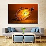PSpXU Sin Marco-Belleza Lienzo Pintura Pared Arte romántico Dormitorio lámpara Aerosol Tinta Impermeable decoración del hogar