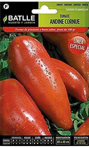 Semillas Hortícolas - Tomate Andine Cornue - de los Andes - Batlle