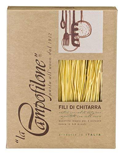 La Campofilone - Fili di Chitarra - La Vera Pasta Italiana Prodotto 100% Italiano - 250 Grammi