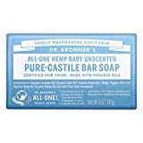 Dr  Bronners Bar Baby Mild Unscented 5oz Soap