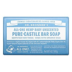 dr bronners pure castile almond bar soap Seife