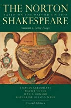 The Norton Shakespeare: Later Plays Volume 2: Based on the Oxford Edition: Later Plays v. 2 by Stephen Greenblatt (2008-08-08)