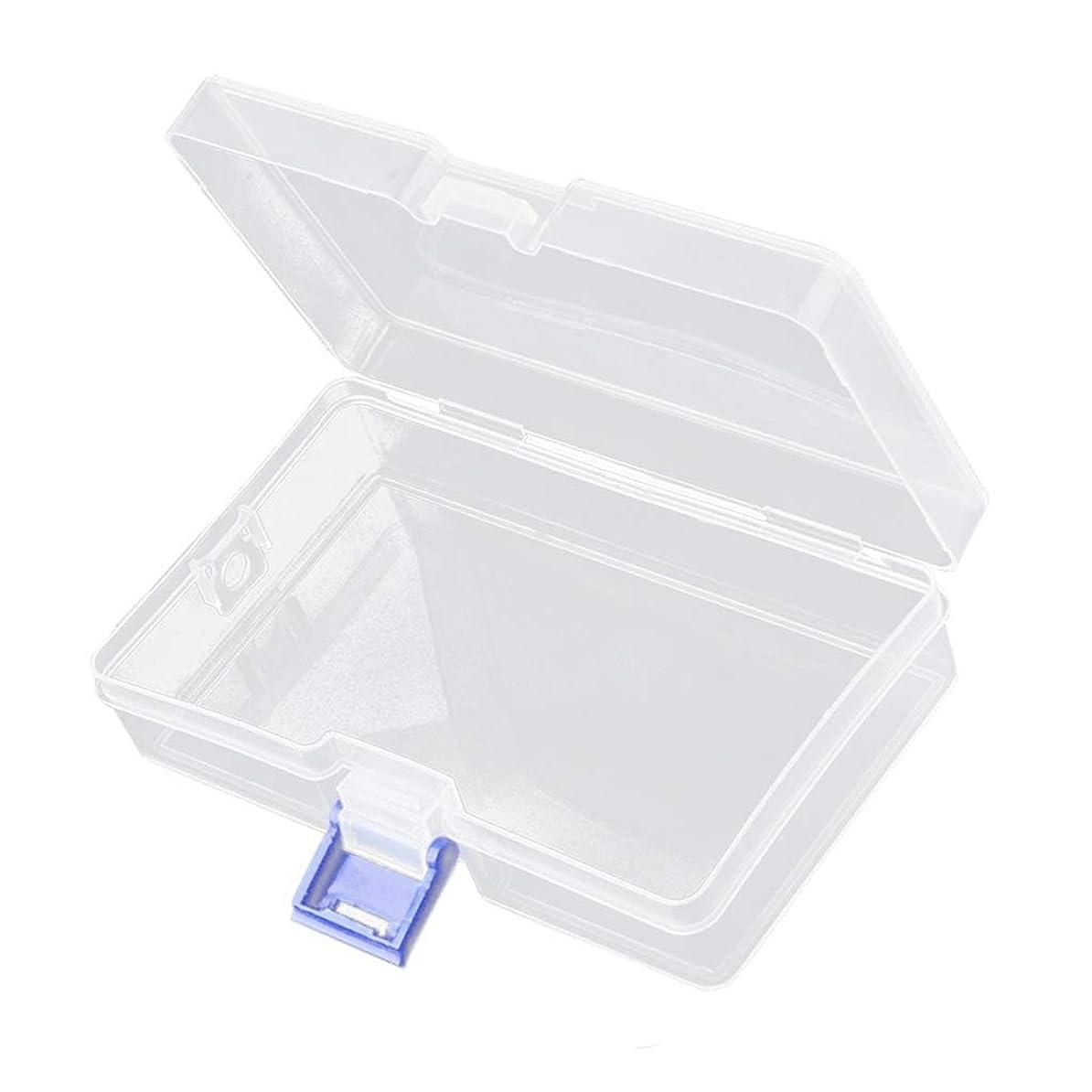 辞任の前で湿地SM SunniMix 高品質アクセサリー収納 小物収納ケースボックス 透明 整理箱 小物入れ ネイルアート用品収納 ボックス
