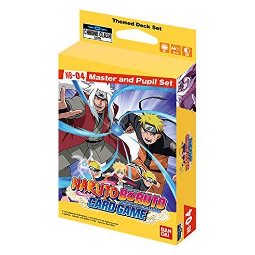 Naruto CG: Expansion Deck Set NB04 - Master & Student Set [UK-Import]