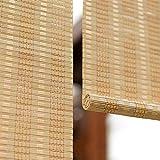 Stores enrouleurs Stores Enrouleurs En Bambou Extérieurs For Belvédère De Patio, Stores Extérieurs Roulants En Bois For Abris De Voitures For Porche Pergola, Largeur 70/90/110/130 / 140cm