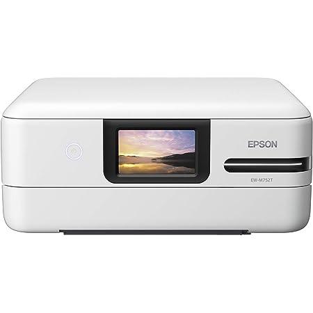 エプソン プリンター エコタンク搭載 A4カラーインクジェット複合機 EW-M752T1 2019年モデル 写真用紙スクエア 20枚入 ドキュメントパック非同梱モデル