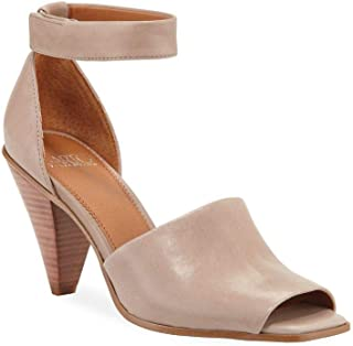 Franco Sarto Women's Cambria Pump, Taupe Leather, 9.5 M