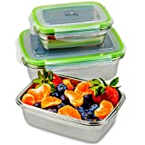 Best GUESS Lunch Boxes - JaceBox Stainless Steel Lunch Containers - LunchBox Container Review