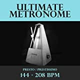 Metronome - 144 BPM - Presto