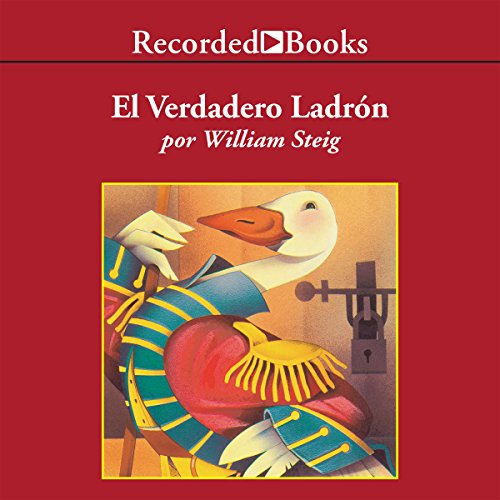 El Verdadero Ladron [The Real Thief] audiobook cover art