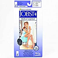 Jobst 119374 Ultrasheer Pantyhose 15-20 mmHg Moderate Support - Size & Color- Classic Black Medium
