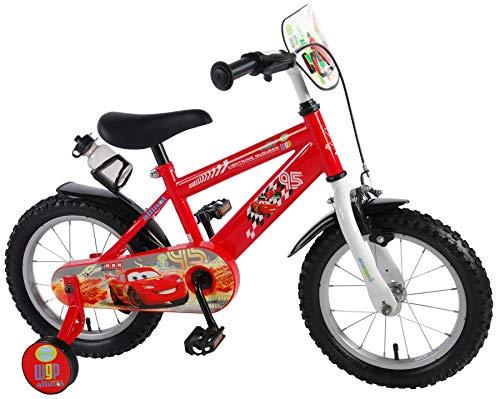 Cars Disney Fahrrad 14 Zoll Jungen Kinderrad Kinder Kinderfahrrad mit Stützräder