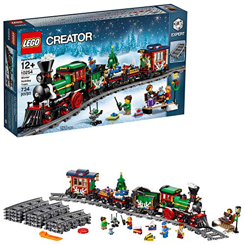 LEGO Creator Expert Winter Holiday Train 10254 Christmas Train Set with Full...