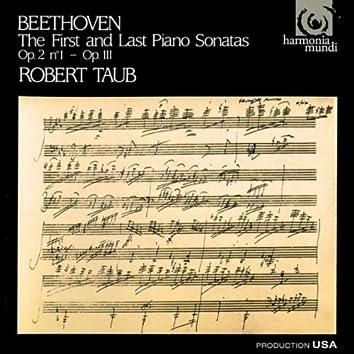 Beethoven: First and Last Piano Sonatas