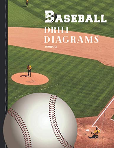 Baseball Drill Diagrams: 50 Blank Diagrams that Coaches and Players Need for Planning, Plays & Drills (with Notes Section), large format (Sports Planners)