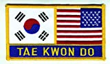 Uniform World Korea & U.S. TAE Kwon DO Flag Patch...