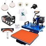 Beyond Your Thoughts 5 en 1 - Máquina de impresión térmica (30 x 38 cm, para camiseta, gorro, taza, plato, prensa de calor