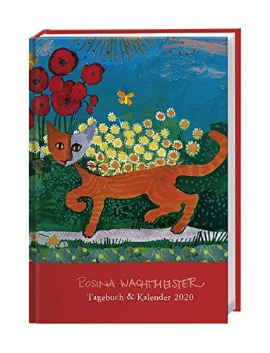 Rosina Wachtmeister Kalenderbuch A6. Taschenkalender 2020. Wochenkalendarium. gebunden. Format 11,6 x 16,3 cm