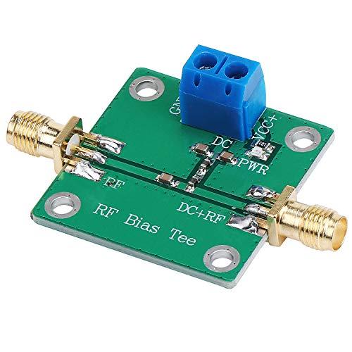 abcGoodefg Amplifier Bias Tee Wideband DC Blocker 10MHz-3GHz Radio Frequency Transformer RF Amplifier for HAM Radio RTL SDR LNA RF Amplifier Divider Bias Feeder Bias Tee 50V DC