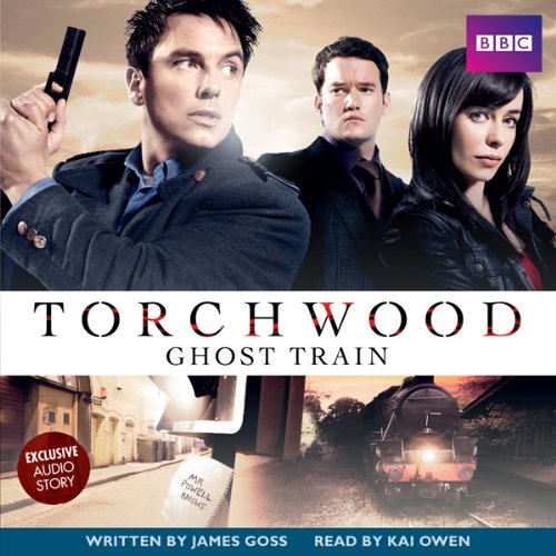 Torchwood: Ghost Train audiobook cover art