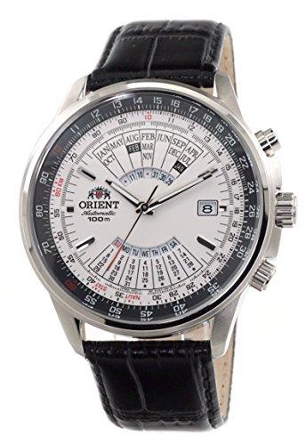 ORIENT Sports Automatic Multi-Year Calendar Cream White Dial Watch EU0700DW