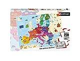 Nathan - Puzzle Enfant - Puzzle 250 p - Carte d'Europe - Dès 8 ans - 86879