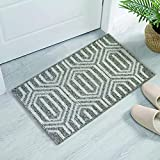 No Slip Door Mat Indoor 50x80cm, Dirt Trapper Entrance Doormat, Machine Washable Rug for Hollway,Front Door,Inside,Living Room,Brown