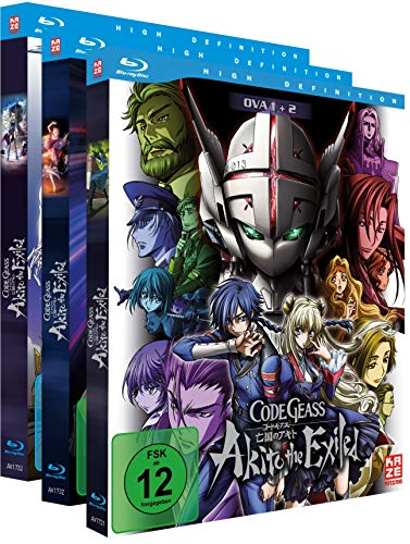 Code Geass - OVAs - Gesamtausgabe - Bundle - Vol. 1-5 - [Blu-ray] [Alemania]