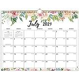 Calendario 2021-2022 - Agenda calendario da parete 2021-2022 luglio 2021 - dicembre 2022, 15' x 11,5', rilegatura a spirale a doppio filo, agenda familiare perfetta per una facile pianificazione