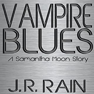 Vampire Blues: A Samantha Moon Story audiobook cover art