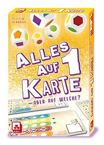 NSV - 4112 - Alles AUF 1 Karte - Würfelspiel
