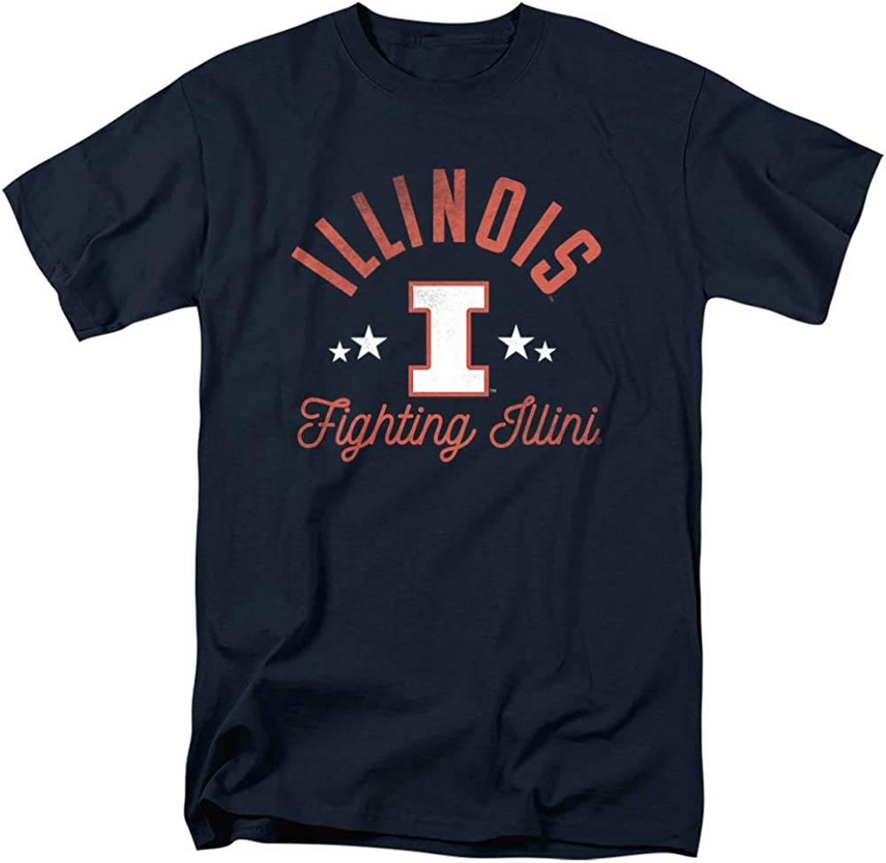 Clearance SALE! Limited time! Factory outlet University of Illinois Official Fighting Ilini T Unisex Sh Adult