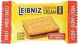 Leibniz Keks'n Cream in der Vorratspackung — Butterkekse mit Schoko-Creme Füllung — Schoko-Kekse in der Großpackung, einzeln verpackt — Doppel-Schokoladenkekse im Vorrats-Karton (1 x...
