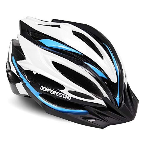 DONPEREGRINO Casco Bicicleta Adulto Hombre Mujer, Cascos Deportes Ultraligeros & Moldeados Integralmente...