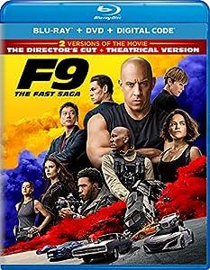 F9: The Fast Saga - Director\'s Cut Blu-ray + DVD + Digital
