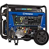 Westinghouse Outdoor Power Equipment WGen9500DF Dual Fuel Portable Generator-9500 Rated 12500 Peak...