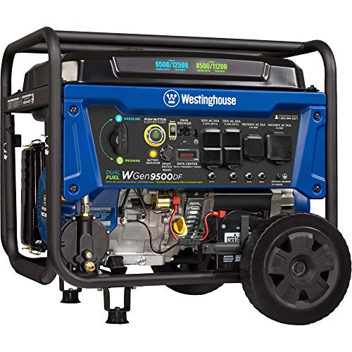 Westinghouse WGen9500DF Dual Fuel Portable...
