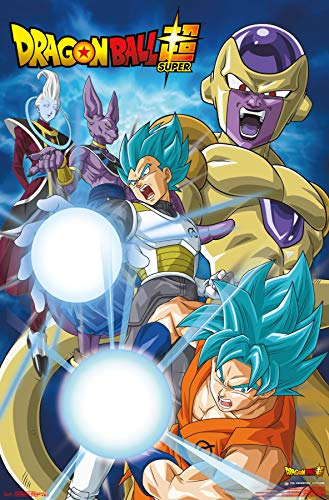 Trends International Dragon Ball: Super - Return, 22.375' x 34', Unframed Version