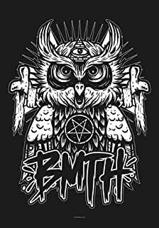 LPG International Bring Me The Horizon Owl Fabric Poster Print, 30 by 40-Inch