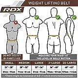 RDX Gewichthebergürtel (Loch-Verschluss) - 9