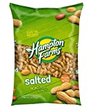 Hampton Farms Salted Roasted In-Shell Peanuts, 5 lbs. [Biz Discount] - PACK OF 2